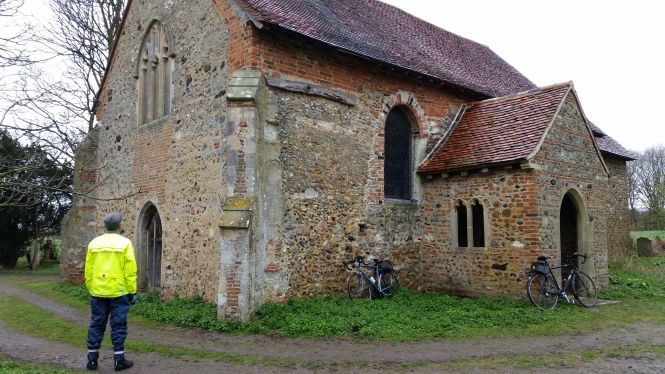 Disused Church near Wickham Bishops