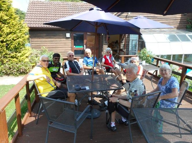 Elevenses at Roundwood 18 June 2017
